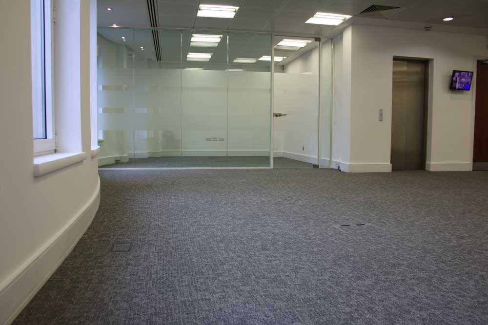 Office carpet fitters london interface carpet tile for Office fitters