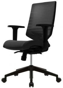 Techo Sidiz T30 Task Chair in black