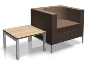 Tub Chair and coffee table