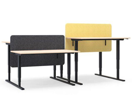 Electronically Height Adjustable Sit-Stand Desks