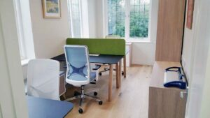 Photograph of Octopus Home Office Furniture Installation